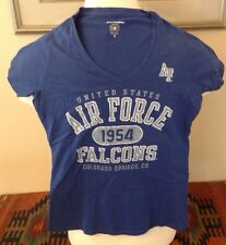 USAF United States AIR FORCE Acadamey FALCONS Champion woman's  T-Shirt size M
