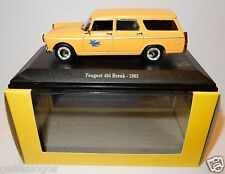 NOREV PEUGEOT 404 BREAK 1963 POSTES POSTE PTT 1/43 IN BOX LUXE