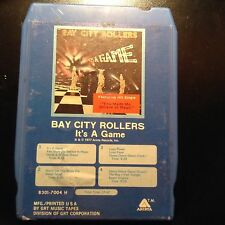 "Bay City Rollers ""It's A Game""  8 track FREE SHIPPING"