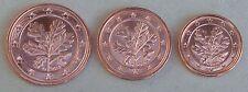1+2+5 Euro Cent Deutschland D 2012 unz.