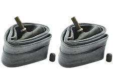 PAIR 12 1/2 x 2 1/4 INNER TUBES SCHRADER CAR TYPE LONG STEM VALVE PUSHCHAIR PRAM