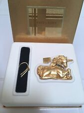 ESTEE LAUDER MAGICAL UNICORN COMPACT w/ EL PLEASURES PURE SOLID PERFUME BNIB VTG