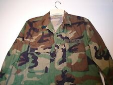 GENUINE USGI ARMY BDU CAMO COMBAT COAT MEDIUM X-SHORT 2000 50/50 TWILL 3-S
