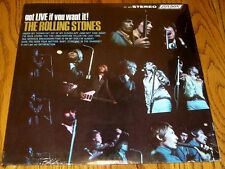 THE ROLLING STONES GOT LIVE IF YOU WANT IT EARLY PRESSING STEREO STILL SEALED!