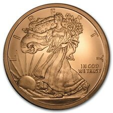5 oz 999 Kupfer Kupfermünze Copper Walking Liberty Lady Silber Eagle Motiv NEU