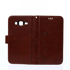 Butterfly PU Leather Stand Wallet Phone Case Cover Card Holder For Samsung Note