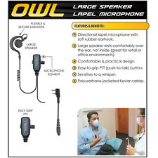 Earphone Connection OWL QR Headset for Kenwood NX TK Series Radios (See List)