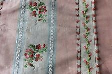 Pale Pink French Antique 18thC Silk Brocade Textile Fabric ~Dolls,Collectors