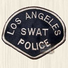 S.W.A.T. Replica Shield Suit Patch SWAT Los Angeles Police TV Serie Embroidered
