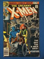 "X-Men #114 Marvel 1st use of ""Uncanny"" in title"