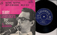 "Terry Lightfoot's New Orleans Jazzmen King Kong + Riverside Blues UK 45 7"" PSlv"