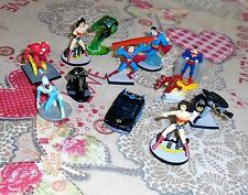 Lotto supereroi Marvel DC comics Batman superman flash e altri 12 MINI FIGURE