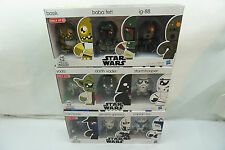 STAR WARS ACTION FIGURES MINI MUGGS TARGET EXCLUSIVE HASBRO LOT 3 SETS of 3 BOX