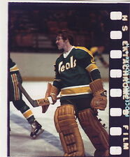 GILLES MELOCHE 1974-75 Topps/O-Pee-Chee PROOF Photo for Card #205 Golden Seals