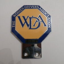 The Women Drivers Association 1959 by Pinches London. Car Club Badge. Very Rare.