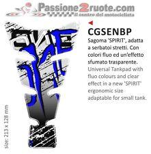 Paraserbatoio tank pad Monster blu Yamaha Tzr Yzf R125 R6 R1 Xj6 Xjr Xt 660 Z TT