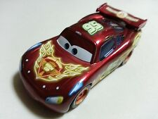 Mattel Disney Pixar Cars Neon Racers Lightning McQueen Metal Toy Car Loose 1:55
