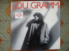 Lou Gramm  Ready Or Not  1987  Vinyl LP  Atlantic Records  81728-1