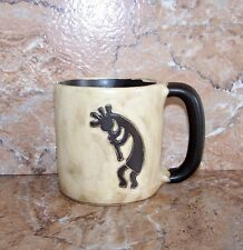 Kokopelli Mug Mara Stoneware Kokopelli 16 Oz Mug DARK HANDLE
