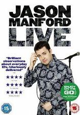 JASON MANFORD LIVE - DVD - REGION 2 UK