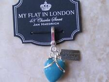 """Brighton Charm """"Queen's Heart"""" My Flat in London Jewelry New on card~"""