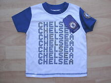 CHELSEA FOOTBALL SOCCER WHITE COTTON T-SHIRT TOP TODDLERS 18-23 MONTHS BNWT