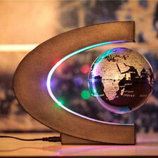 C-Shaped Home Decoration  Maglev Magnetic Levitation Floating Globe World Map
