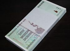 50x 50 TRILLION ZIMBABWE DOLLAR MONEY CURRENCY.UNC* USA SELLER*
