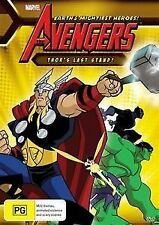 The Avengers Earth's Mightiest Heroes Thor's Last Stand DVD BRAND NEW SEALED!