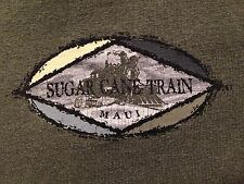 MEN'S VINTAGE SUGAR CANE TRAIN MAUI T SHIRT SMALL