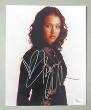 Jessica Alba Signed 8x10 Photo Autographed  JSA COA   Dark Angel