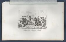 Ballo dell'orso in Roma folklore Frommel Carl Kollmann Ernst Lipsia 1837