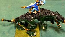 WARHAMMER Fantasy Lizardmen Carnosaur (1) OOP painted metal oop