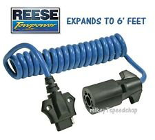 REESE 7-WAY to 4-WAY FLAT ADAPTER TRAILER WIRING HARNESS towing wire connector