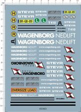 Super Detail 1/50 Scale Wagenborg Nedlift steyr 8X4 Model Kit Water Slide Decal