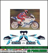 kit adesivi stickers compatibili  mito denim serie speciale 1991