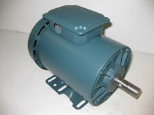 RELIANCE 1.5 HP 3600 RPM TEFC 230/460 VOLTS 143T 3 PHASE MOTOR NEW SURPLUS