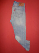 Vintage Levis 501 Button-Fly - Mens Blue Denim Jeans - Waist 36 Leg 30 - K367