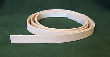 "1"" 8-9 oz. Cowhide Veg Tan Tooling Leather Belt/Strap for Slings Strops Tack"
