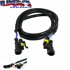 "1 pc 36"" 3 ft HID Extension Wire For 35W & 55W Ballast and Xenon Bulbs"