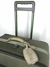 """Briggs & Riley 29"""" Olive Wheeled Expandable Built In Suiter Luggage Suitcase"""