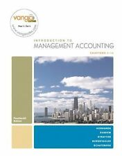 Introduction to Management Accounting, Chapters 1-14 by Charles T. Horngren,...