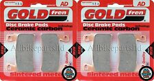GOLDFREN HH SINTERED FRONT BRAKE PADS (2xSets)for HONDA CBR600-F FS2 SPORT 2002