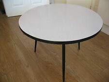 Old vintage mid century atomic era DU - AL Dare Inglis formica top coffee table