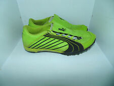 Mens 7.5 Puma Neon Lime Green & Black Track & Field Spikes Running Shoes