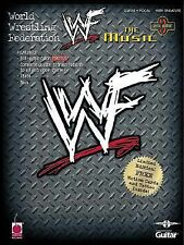 WWF Vol. 3 : The Music Wrestling Songbook Sheet Music Song Book NO CD
