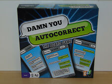 Damn You Autocorrect Board Game-Go Games 2012-Complete Excellent Condition