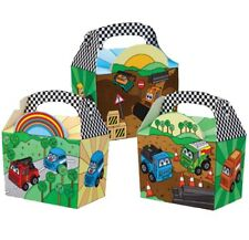 15 MOTOR MADNESS - DIGGERS / CARS / TRUCKS ~ BIRTHDAY PARTY FOOD LUNCH GIFT BOX
