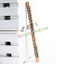 Marrone Leopard impermeabilizzano il Eyeliner Eyebrow Pencil Brush