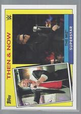 2015 TOPPS HERITAGE WWE THEN AND NOW #20  THE MIZ  50 CENT SHIP